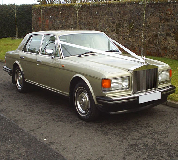 Rolls Royce Silver Spirit Hire in Glasgow