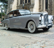 Silver Lady - Bentley Hire in Manchester